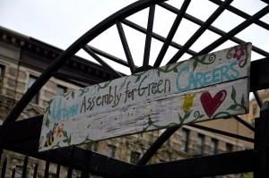 urban assembly garden sign