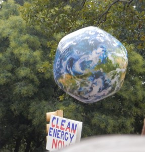 New York City Climate March Photo by Pamela Berns