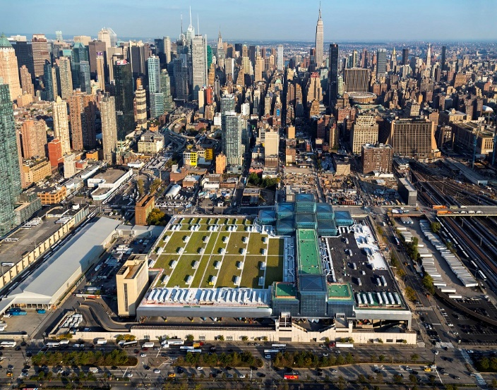 Javits Center The Largest Green Roof In Nyc Greenhome Nyc