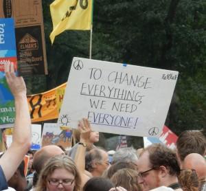 New York City Climate March Photo by Pamela Berns