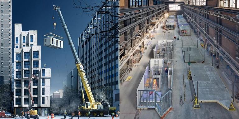 Capsys Pre-fab modular construction factory
