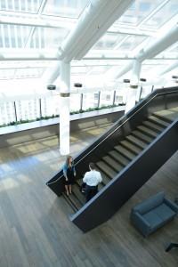Staircase at CBRE