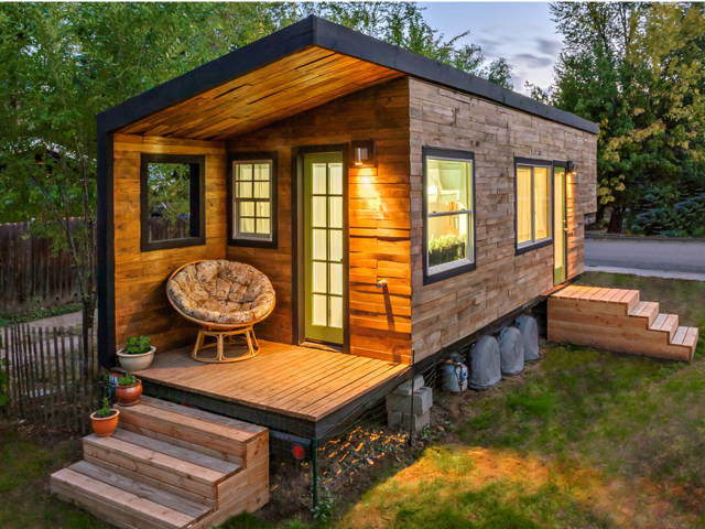 Living it up in Tiny Homes Greenhome NYC